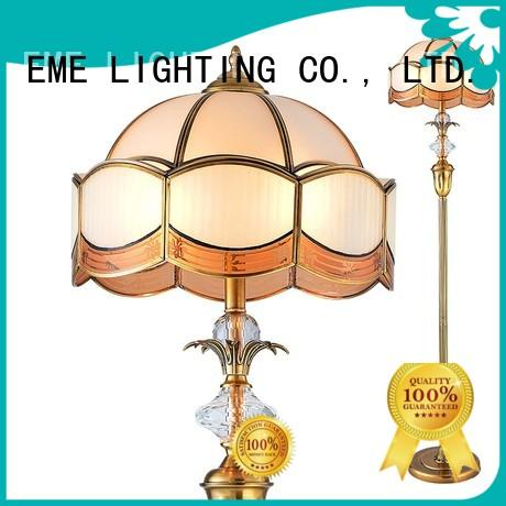 bronze floor lamp customized for hotels EME LIGHTING