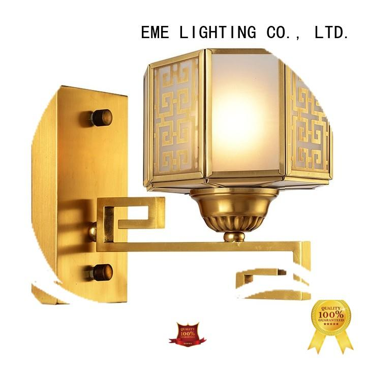 vase shape gold sconces america style OEM for restaurant