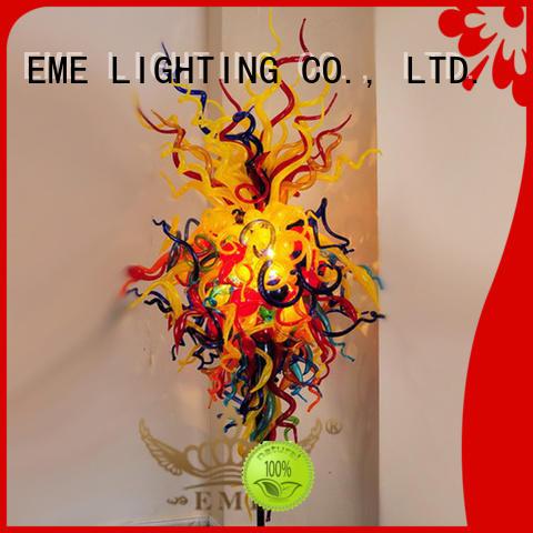 EME LIGHTING copper decorative floor lamps fancy for bedroom