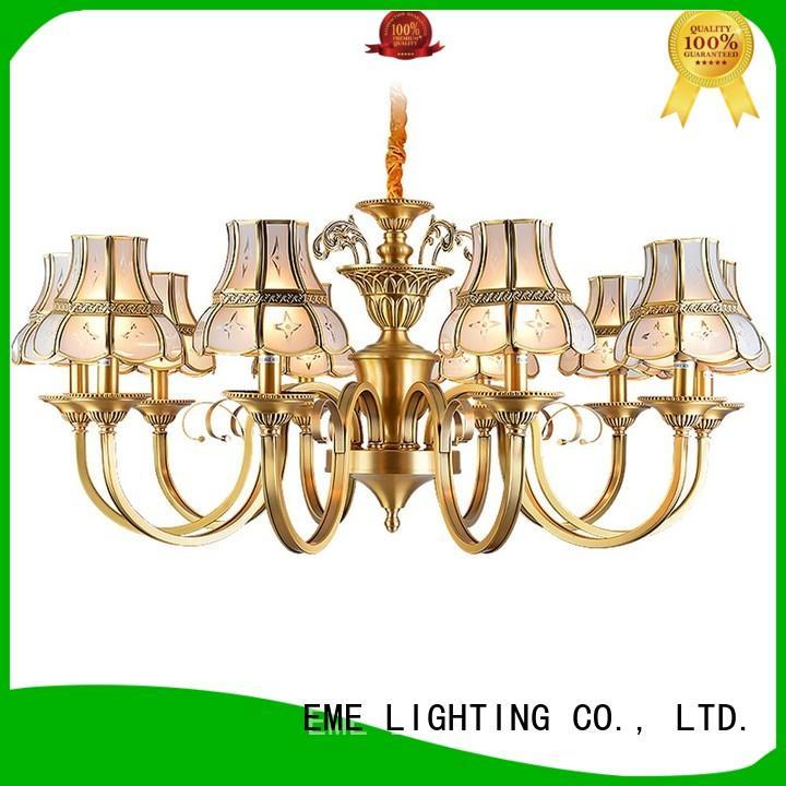 EME LIGHTING antique modern brass chandelier vintage for home