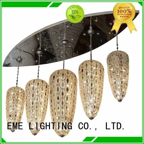 EME LIGHTING round large hanging chandelier for lobby