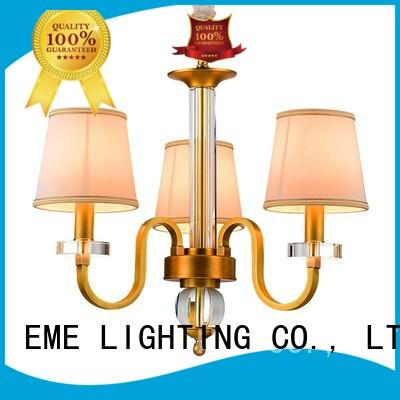 EME LIGHTING decorative antique chandeliers brass american style for dining room