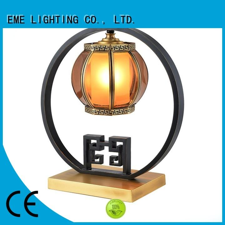 EME LIGHTING decorative chinese style table lamp gold for bedroom