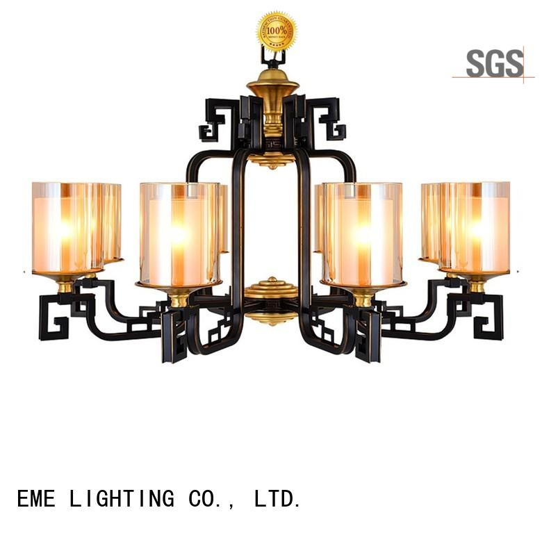 EME LIGHTING decorative chandelier over dining table american style