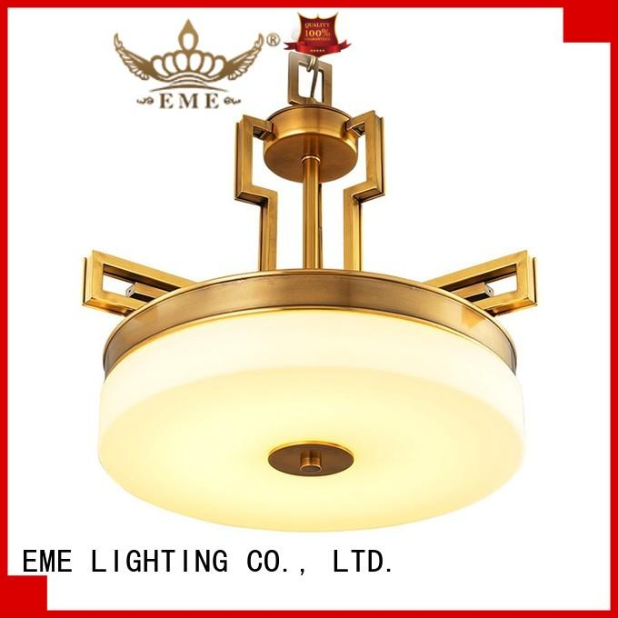 EME LIGHTING copper chandelier manufacturers unique for home