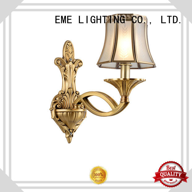 EME LIGHTING brass metal wall sconces top brand for restaurant