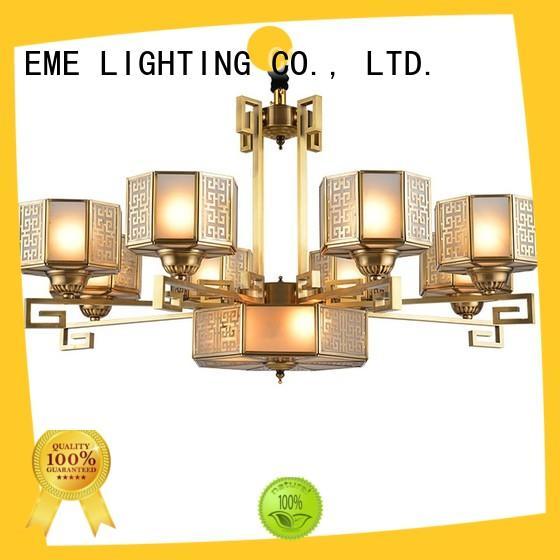 EME LIGHTING large antique copper pendant light unique for home