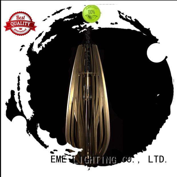 EME LIGHTING popular antique brass pendant light bulk production for living room