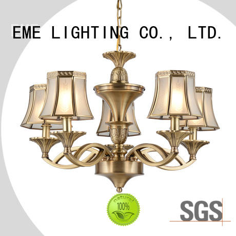 EME LIGHTING decorative antique chandeliers brass large for dining room