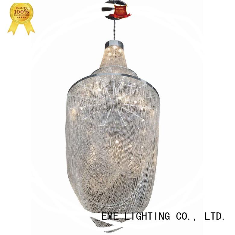 EME LIGHTING acrylic gold crystal chandelier for dining room