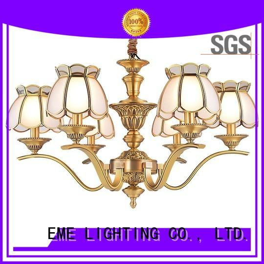 EME LIGHTING copper chandeliers wholesale round for dining room