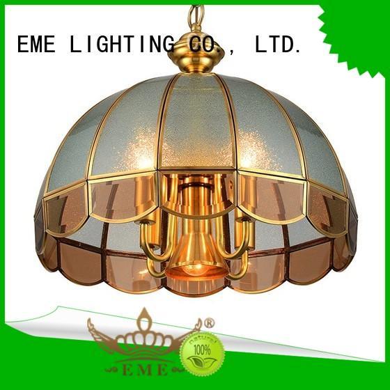 EME LIGHTING decorative vintage brass chandelier European