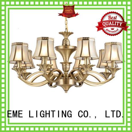 EME LIGHTING glass hanging restaurant chandeliers round