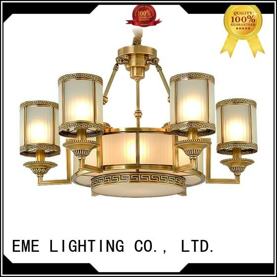 glass hanging restaurant chandeliers residential EME LIGHTING