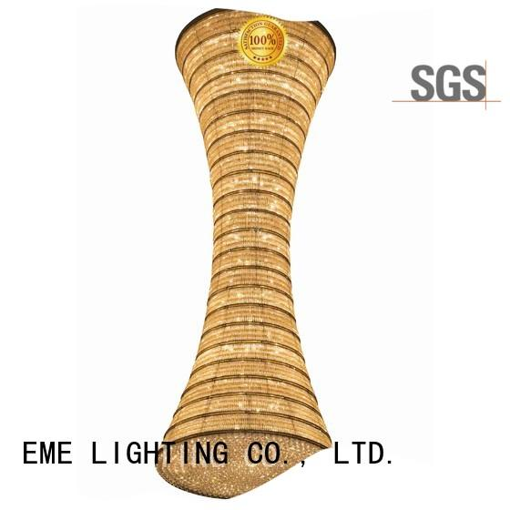 EME LIGHTING acrylic dining chandelier at discount for lobby