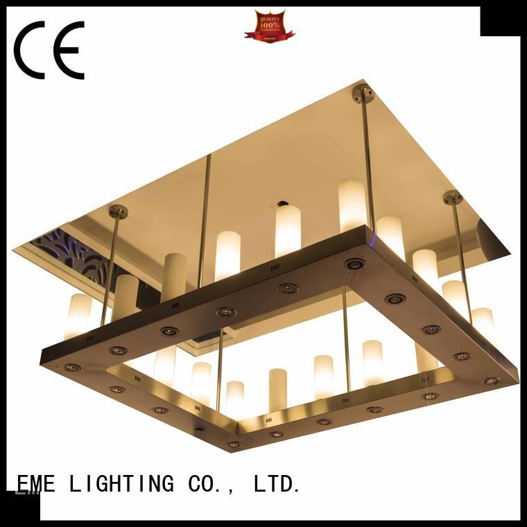 modern hanging chandelier round for dining room EME LIGHTING