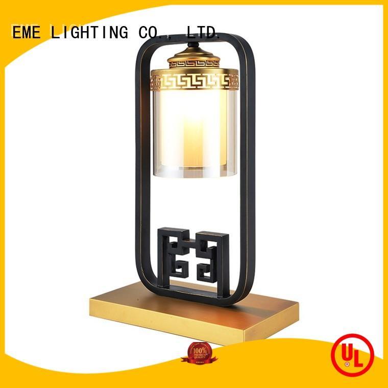 black asian table lamps colored for restaurant EME LIGHTING