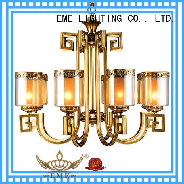 EME LIGHTING large chandelier manufacturers round for big lobby