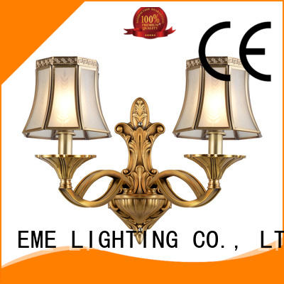 EME LIGHTING unique design traditional wall sconces OEM for indoor decoration