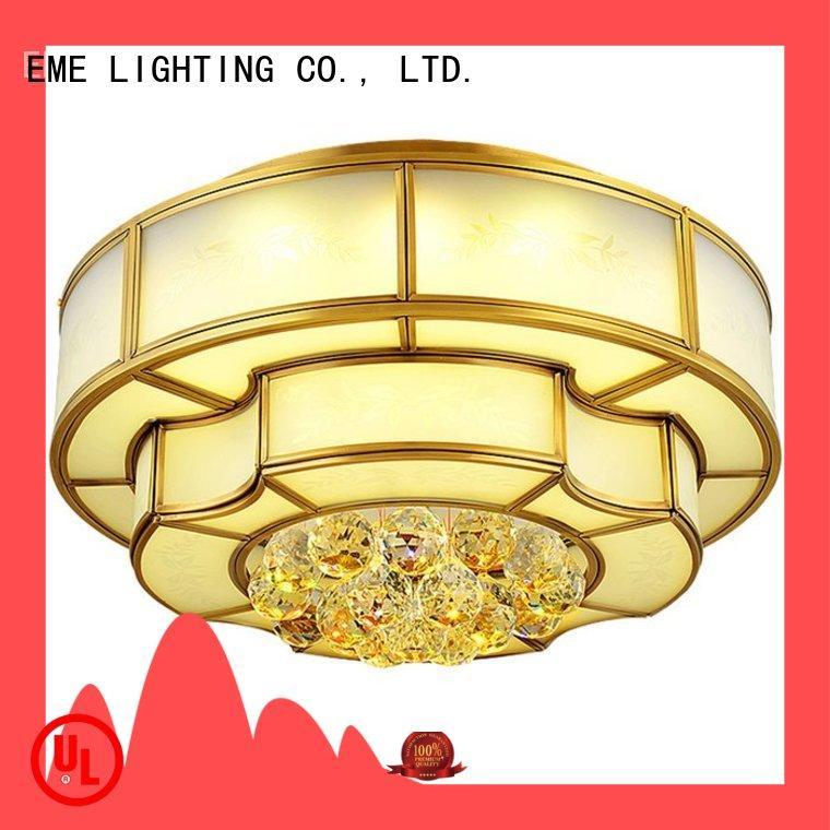 EME LIGHTING high-end brass ceiling lights round