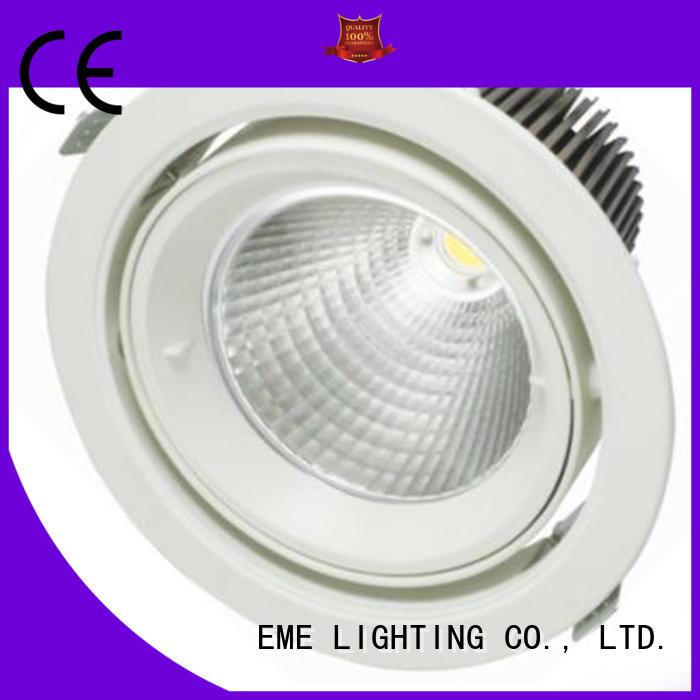 EME LIGHTING adjustable ring white downlights bulk production for indoor lighting
