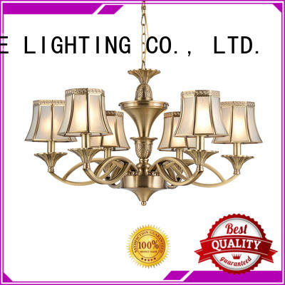 concise vintage brass chandelier copper traditional for dining room