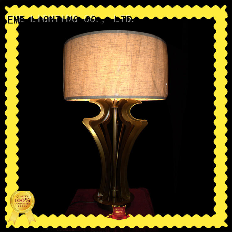 EME LIGHTING elegant glass table lamps for bedroom concise for bedroom
