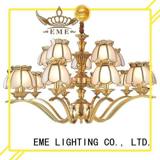 EME LIGHTING concise classic chandelier large for home
