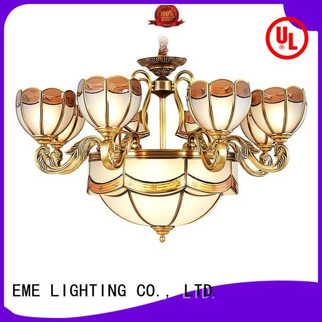 antique antique brass 5 light chandelier vintage for dining room EME LIGHTING