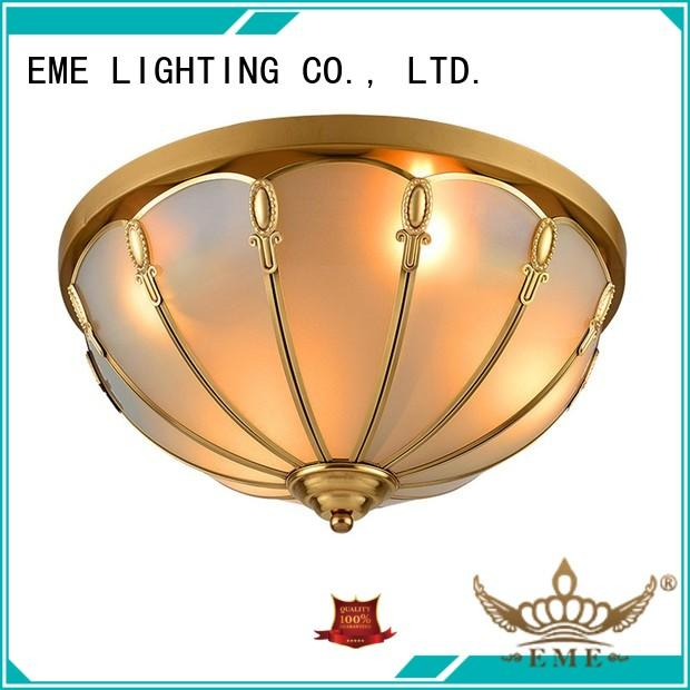 EME LIGHTING high-end brass ceiling lights residential for big lobby