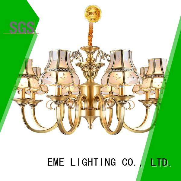 concise chandelier over dining table american style traditional for big lobby
