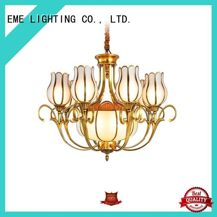 EME LIGHTING large antique brass chandeliers for sale residential
