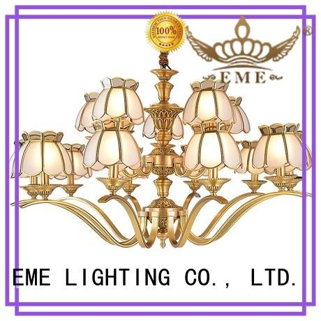 EME LIGHTING american style chandelier over dining table traditional for dining room