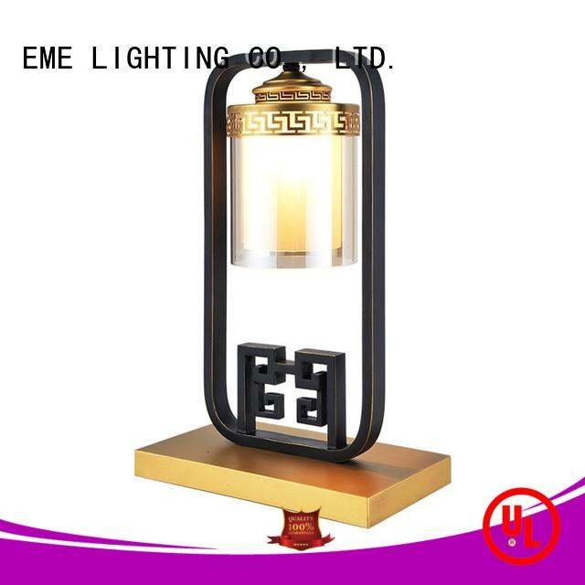 gold oriental table lamps Chinese style for restaurant