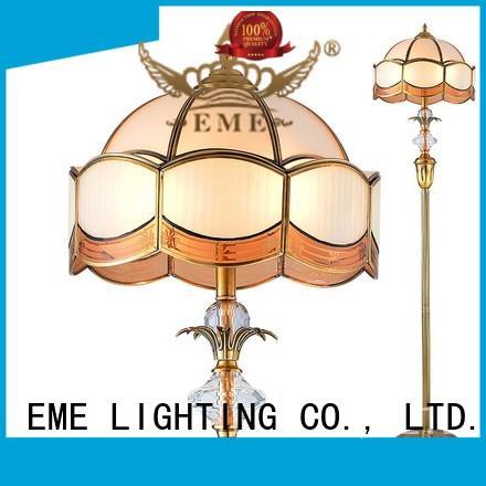 EME LIGHTING copper standing light traditional for hotels