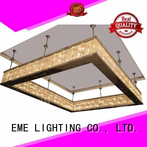 crystal chandelier manufacturers acrylic for dining room EME LIGHTING