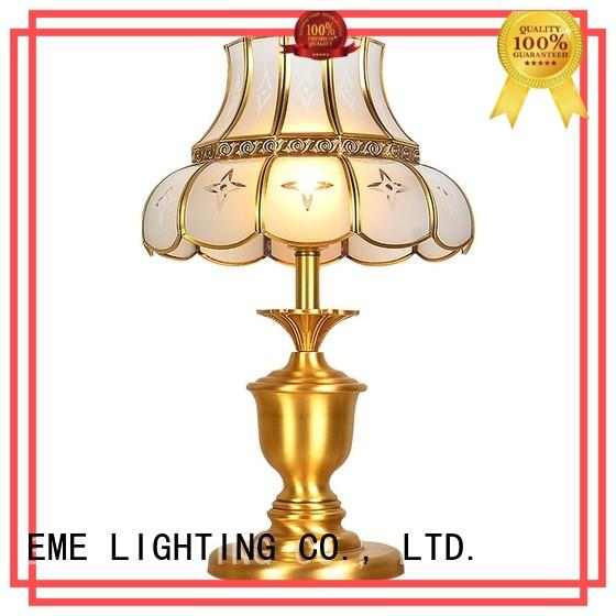 European style glass table lamps for living room cheap for room