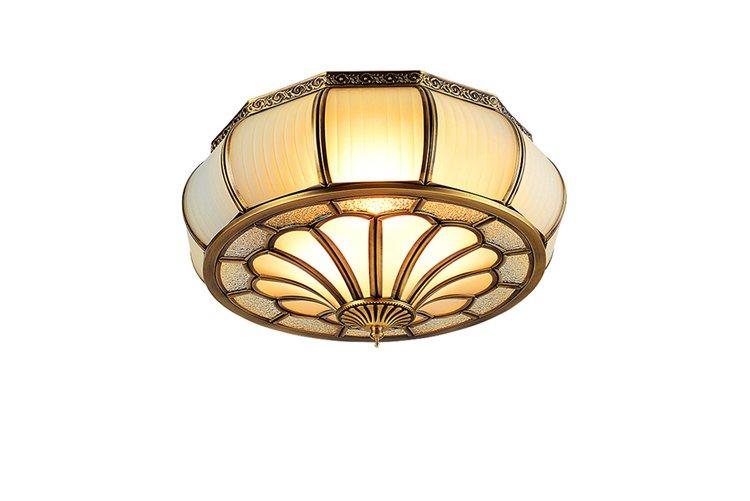 high-endbrass ceiling lights classic round for home-1