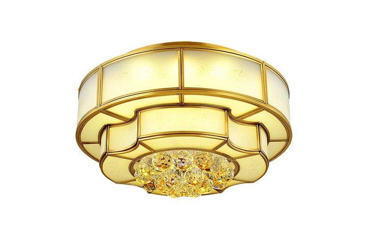 EME LIGHTING antique brass ceiling lights traditional for dining room-1