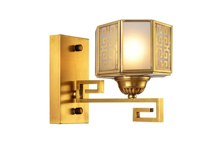 floor brass wall sconce america style ODM for restaurant