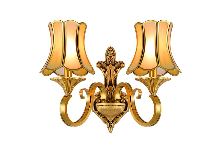 floor brass wall sconce america style top brand for restaurant-1