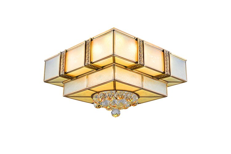 product-Square Copper Ceiling Light EAX-14003-450-EME LIGHTING-img