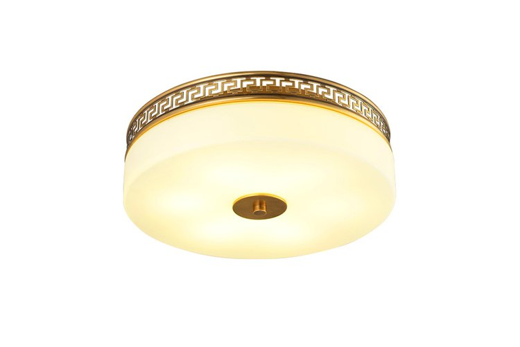 concise crystal ceiling lights high-end residential-1