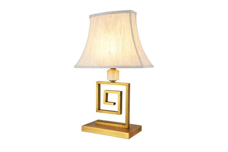 EME LIGHTING decorative chinese style table lamp glass for bedroom