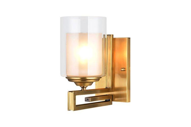 vase shape traditional wall sconces america style OEM for indoor decoration