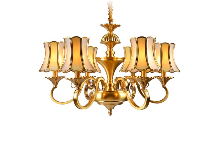 EME LIGHTING american style chandelier over dining table European for big lobby-1