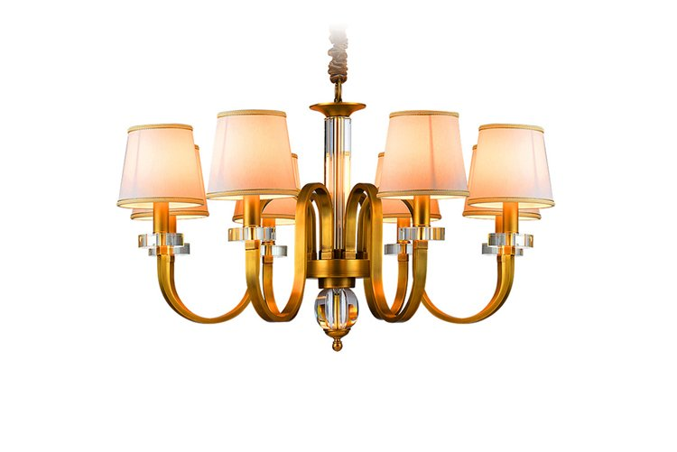modern chandeliers wholesale large round for big lobby-1