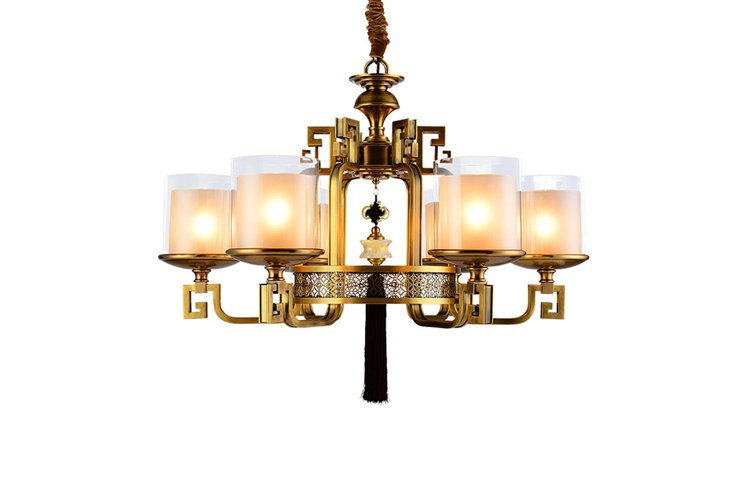 EME LIGHTING concise modern brass chandelier European-1