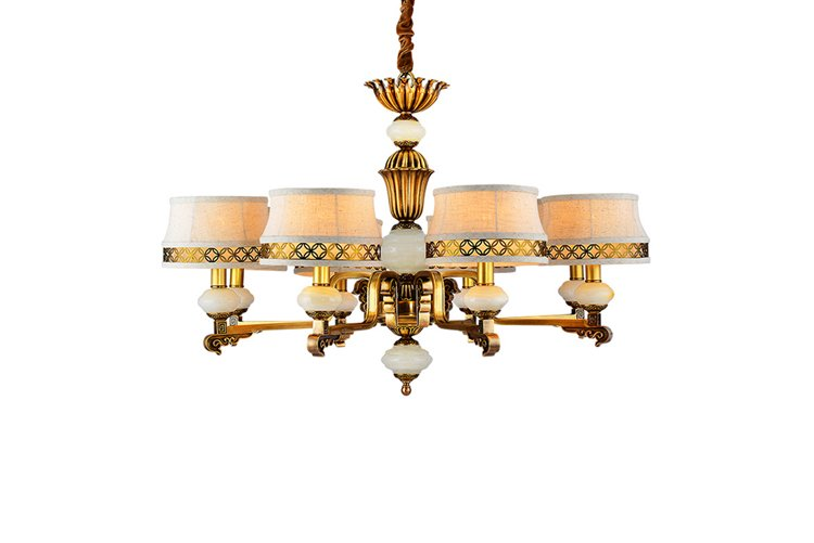 high-end chandeliers wholesale copper round-1