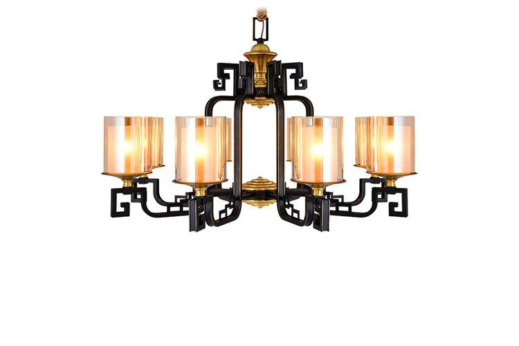 EME LIGHTING glass hanging decorative chandelier residential for big lobby